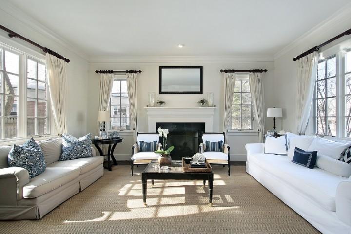 Mieszkanie w morskim stylu style projektowanie wn trz for Mooie huiskamer inrichting