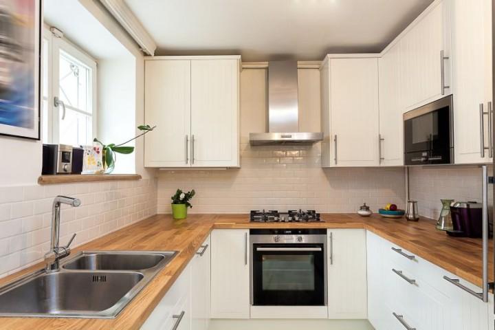 Zdjęcie nr 7 10 pomysłów na białą kuchnię  galeria  Projekt kuchni i jadal   -> Bardzo Mala Kuchnia Na Poddaszu