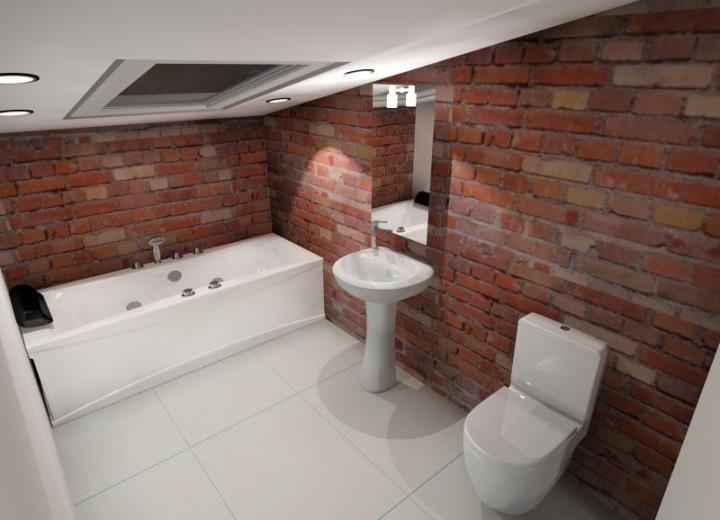 Zdjęcie Nr 4 łazienka Na Poddaszu Jak Ją Dobrze