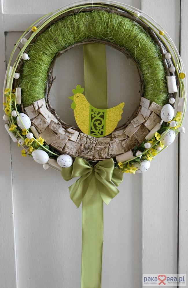 Zdjęcie Nr 3 Wianek Wielkanocny Na Drzwi Galeria Galeria